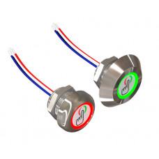 Сенсорная кнопка KD-22ESH-1PA-WB-10-M
