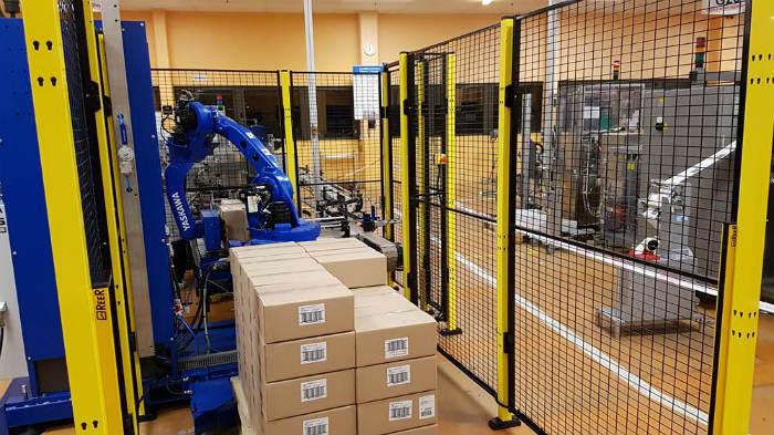 Обеспечение безопасности роботизированных технологических участков