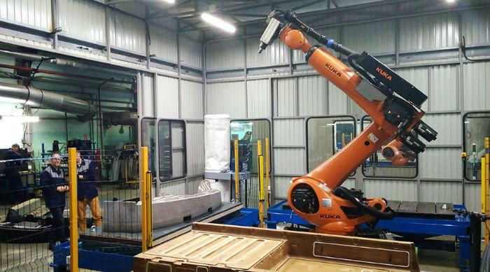 Участок роботизированной сварки