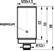индуктивный датчик ISN EC85P-312P-35G-LZS4
