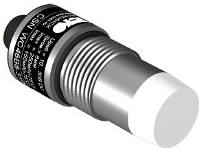Ёмкостные датчики CSN WC46S8 в корпусе М18 для контроля уровня жидкости, находящейся под давлением до 2 МПа