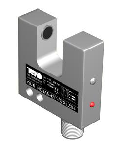 Шелевые оптические датчики OU NC3A5 для обнаружения  непрозрачных объектов