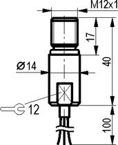Габаритный чертёж ISB W212S8