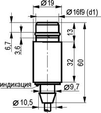 Габаритный чертёж ISB WF63A8