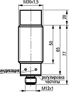 Габаритный чертёж IV21N E81A5