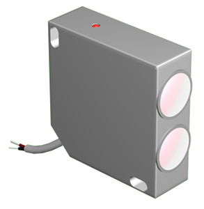 Оптические датчики OPR I45A для обнаружения и подсчета блестящих поверхностей, полупрозрачных и прозрачных объектов  (стекло, пленка)