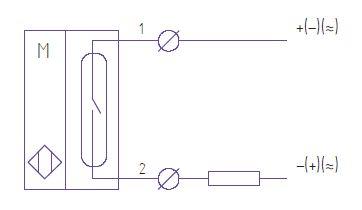 схема подключения датчик контроля положения задвижки ДКЗ-1Г
