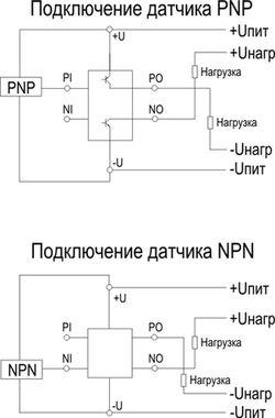 Схема подключения для CF1-1-G-E-О