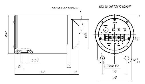 датчик контроля минимальной скорости ВТИЮ.1345
